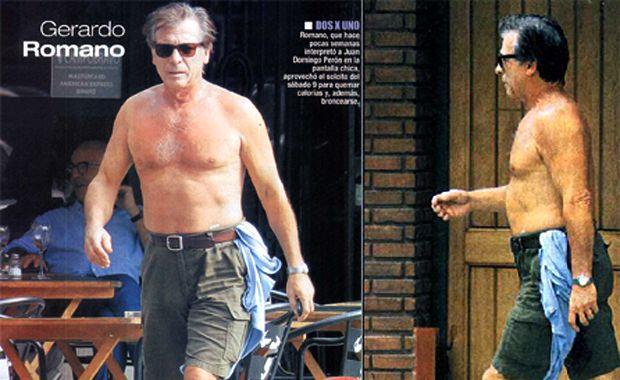 El actor Gerardo Romano detuvo al ladrón de un turista en P