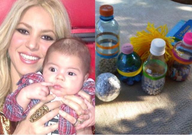 Los juguetes caseros de Shakira para su hijo!