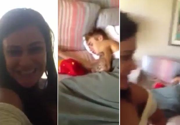 La morena dominicana de badoo masturbando por webcam - 2 7
