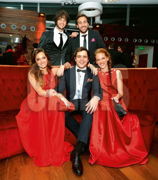 Ori, Nico, Peter y Jenny
