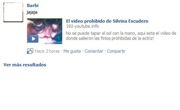 El video prohibido de Silvina Escudero....