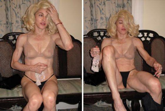 Las Fotos De Madonna Sin Shop Son Furor En La Web