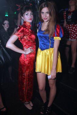 japonesa, la ex Casi Ángeles disfrutó de la noche de Halloween hecha