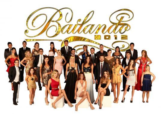El elenco completo de Bailando 2012