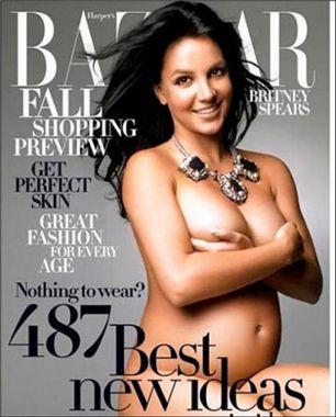 Famosas, embarazadas y completamente desnudas - Demi Moore