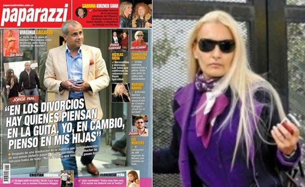 respuesta de la ex de Jorge Rial a su tapa en la revista Paparazzi