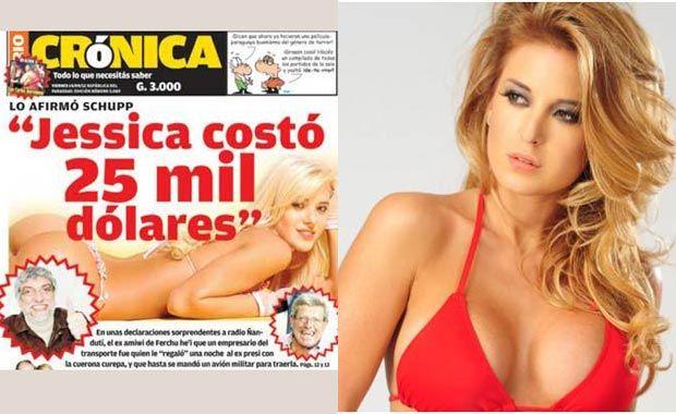 Jésica le costó 25 mil dólares a Lugo
