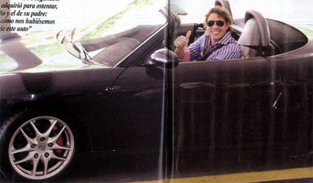 Matias Ale se compro un Porsche