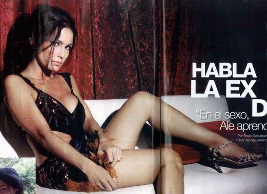 """La ex de Ale Sergi """"Mostraría los videos hot"""
