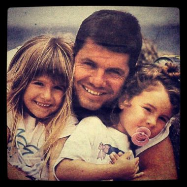 la emotiva foto de marcelo tinelli en la infancia junto a su madre