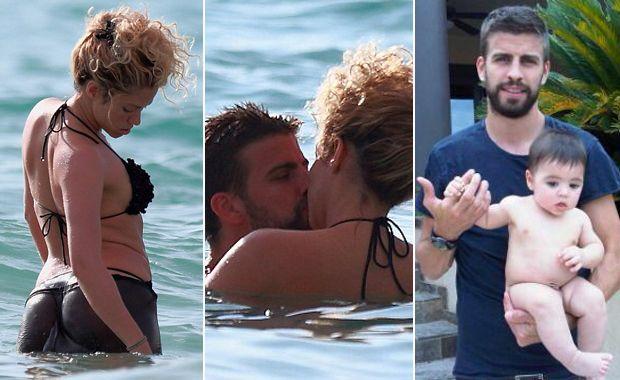 de Shakira y Piqu  233  con su hijo  Milan  en Hawaii  Fotos  Daily Mail yHijo De Shakira Y Pique
