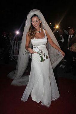 Sexo en su ciudad de vestido de novia