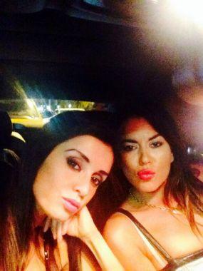 Jelinek y Paz en Miami: sensual álbum de fotos