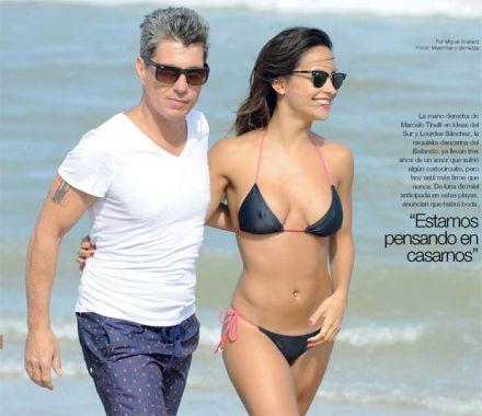 Lourdes Sanchez hot body