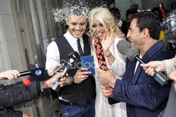 Wanda nara y mauro icardi se casaron en el registro civil de san isidro 1