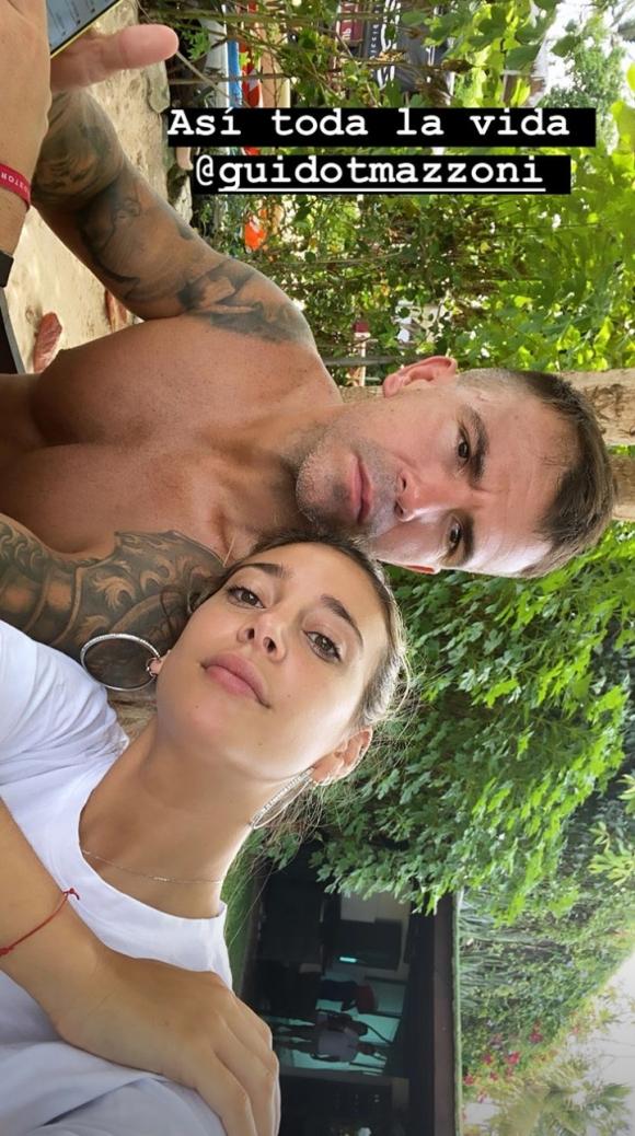 """Sol Pérez y su novio, súper enamorados en Brasil: """"Así toda la vida"""""""