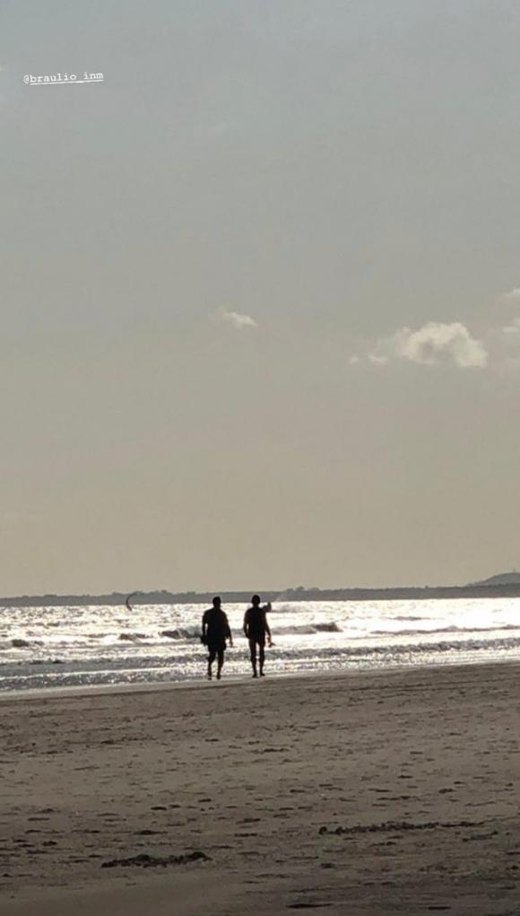 """Las románticas vacaciones de Luis Novaresio y Braulio Bauab: """"Y de repente, te mirás y sabés que es esto"""""""