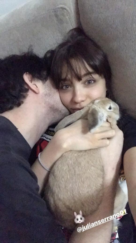 Romántica postal de Malena Narvay y Julián Serrano después del escandaloso rumor de affaire con Sofi Morandi