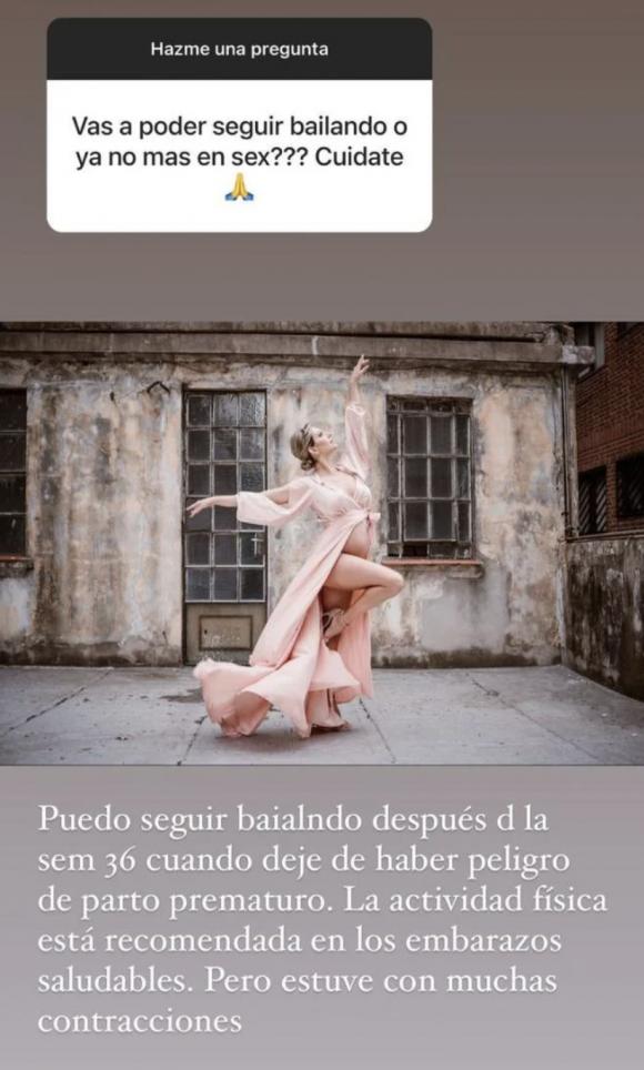 """La angustia de Noelia Marzol por tener que hacer reposo por contracciones  durante su embarazo: """"No me autorizan a bailar"""" - Ciudad Magazine"""