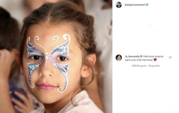 Leonor Varela, una actriz chilena, le dedicó a Benjamín Vicuña un dulce mensaje por el aniversario de Blanca: ella también perdió a su hijito