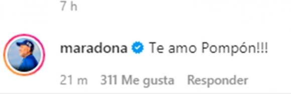 """Fuerte posteo de Gianinna Maradona por el cumple de Diego y la emocionante respuesta del Diez: """"Mi gran ejemplo de todo lo que sí y lo que no"""""""