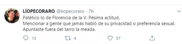 Fuertes críticas a Flor de la Ve al publicar un video de famosos que no hablaron públicamente de su sexualidad