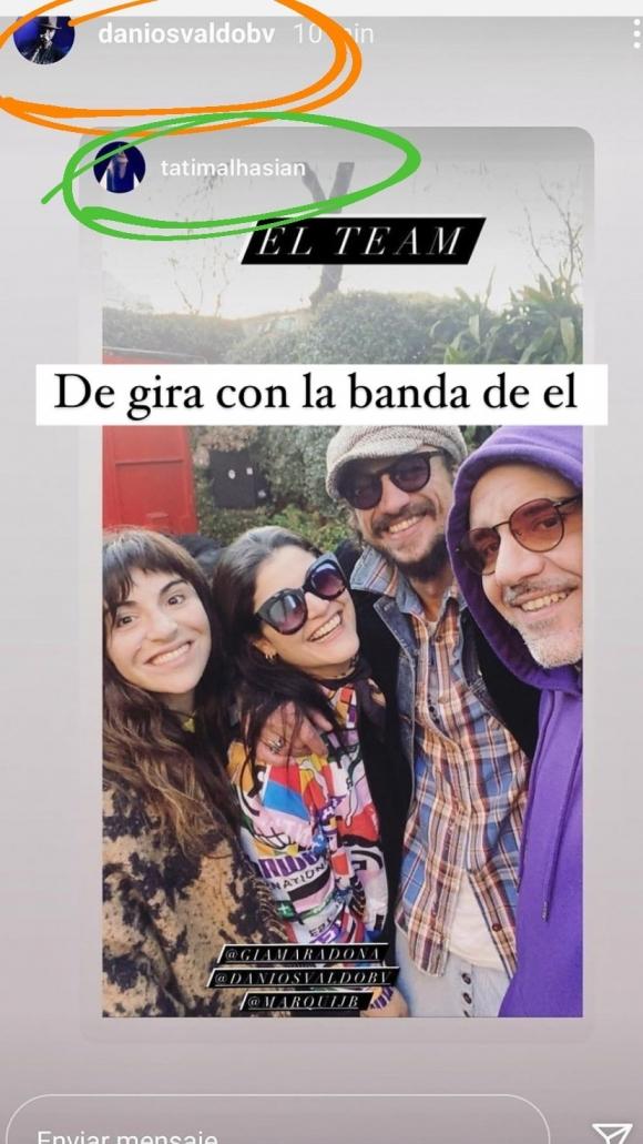 """Gianinna Maradona y Daniel Osvaldo, en medio de fuertes rumores de separación: """"Él ya no se sigue con Claudia Villafañe"""""""