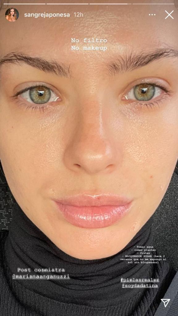"""La China Suárez compartió fotos 100% al natural: """"No filtro, no make up"""""""