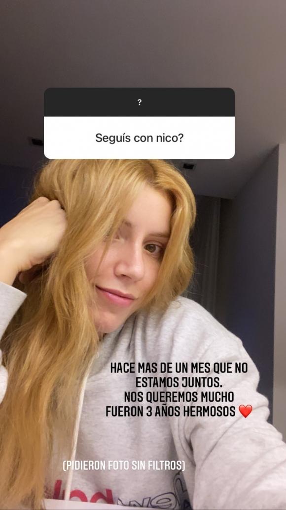 """Laurita Fernández reveló que se separó de Nicolás Cabré: """"Hace más de un  mes que no estamos juntos"""" - Ciudad Magazine"""