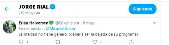 """El picante 'me gusta' de Jorge Rial contra Viviana Canosa: """"La maldad no tiene género"""""""