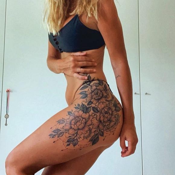 """Luciano Castro y Sabrina Rojas se tatuaron juntos: """"No puedo dejar de mirarlo"""""""