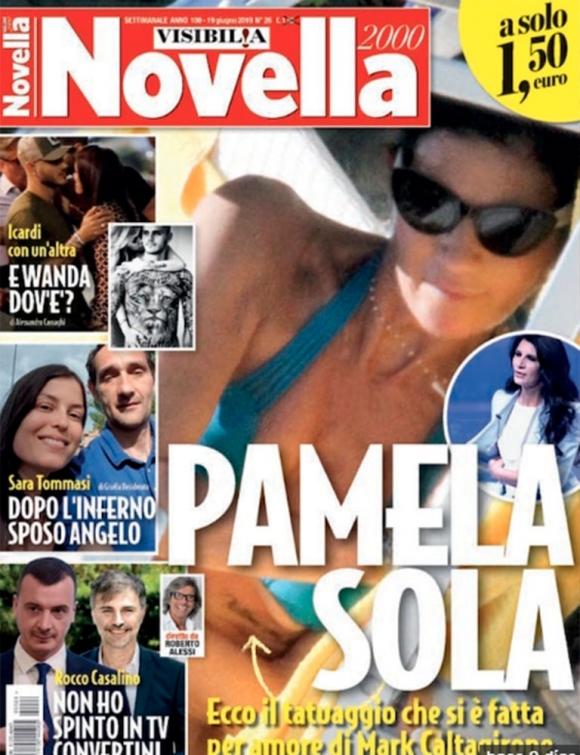 La tapa de una revista muestra a Mauro Icardi junto a una morocha: la reacción de Wanda Nara