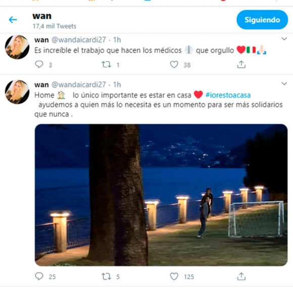 """Wanda Nara, picante tras el fuerte posteo de Maxi por volver a Italia: """"Lo único importante es estar en casa"""""""